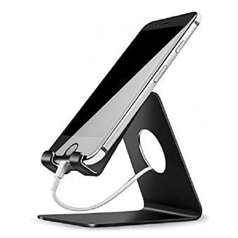Suporte de Mesa Smartphone Preto Ozzzo para Samsung S5560 Player 5 / Marvel