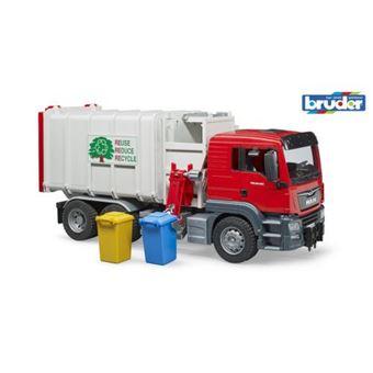 Camião do Lixo Lateral de Brincar Bruder MAN TGS
