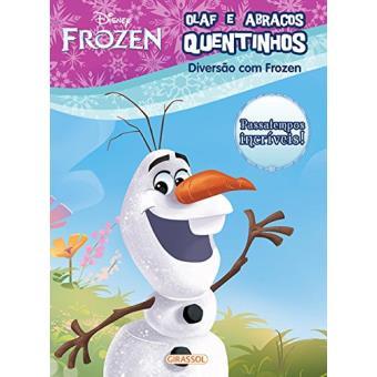 Disney Frozen. Diversão com Olaf e Abraços Quentinhos
