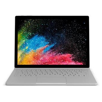 """Portátil Híbrido Microsoft Surface Book 2 2 i7 16GB SSD 1024GB 13.5"""" Prateado"""