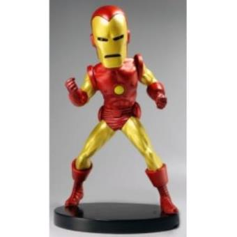 Figura Bobble Head Resina Marvel Iron Man 15 cms