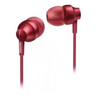 Auriculares Philips SHE3850RD/00 Metálico, Vermelho