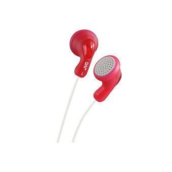 Auriculares JVC HA-F14 Vermelho