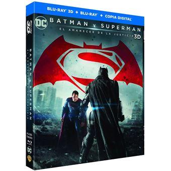 Batman v. Superman: Dawn of Justice 3D / Batman v. Superman: El amanecer de la Justicia (2Blu-ray)
