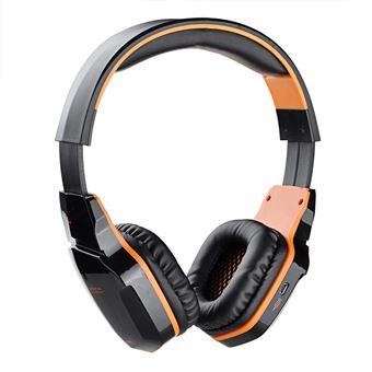 Auscultadores Gaming Bluetooth Magunivers KOTION CADA B3505 para Jogos com Microfone Laranja