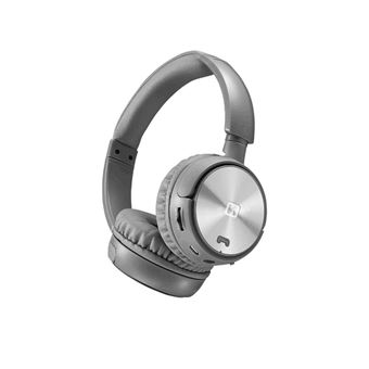 Headphone Swissten Trix Wireless Prateados/Cinzentos