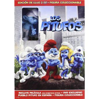 The Smurfs (2011( 3D) + Figure / Los Pitufos (2DVD)