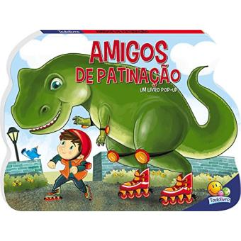 Amigos de Patinação - Coleção Dino. Livro Pop-Up