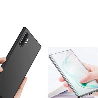 Kit Película de Vidro 5D Full Cover com Capa SlimShield Phonecare para Samsung Galaxy Note 10 Plus Preto