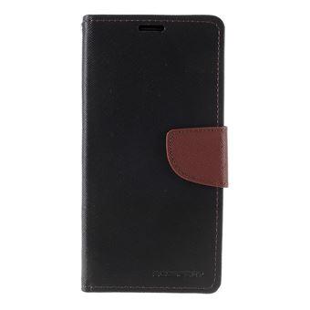 Capa Magunivers PU Preto/Castanho para Samsung Galaxy Note 10/Note 10 5G