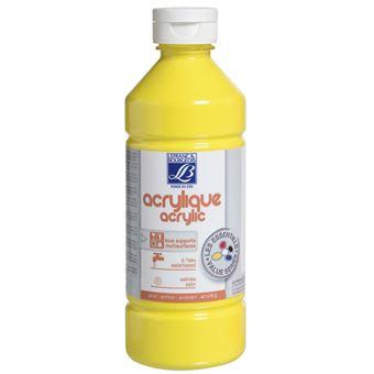Tinta Acrílica LEFRANC&BOURGEOIS ED GB | 0,5 L - Amarelo