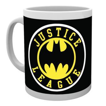 Caneca de Cerâmica GB Eye DC Comics Batman Justice League