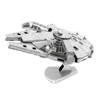 Star Wars Metal Earth 3D Model Kit Millenium Falcon Professor Puzzle