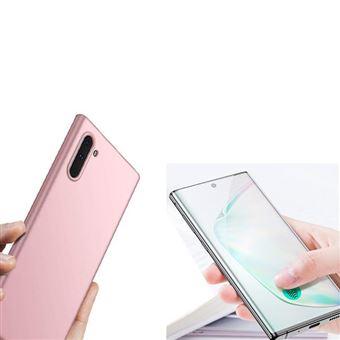 Kit Película de Vidro Phonecare 5D full Cover com Capa SlimShield para Samsung Galaxy Note 10 - Rosa