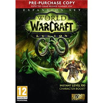 World of Warcraft: Legion Pre-purchase PC