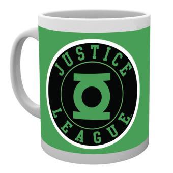 Caneca de Cerâmica GB Eye DC Comics Green Lantern Justice League