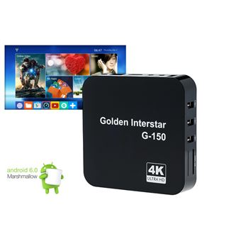 Box Android TV Sixad 4K 8Gb 4XUSB