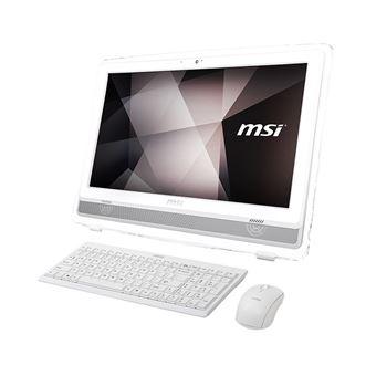 Desktop All-in-one MSI 22ET 7NC-220XEU i3 3,9 GHz 4GB HDD 1TB Branco