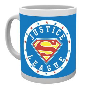 Caneca de Cerâmica GB Eye DC Comics Superman Justice League