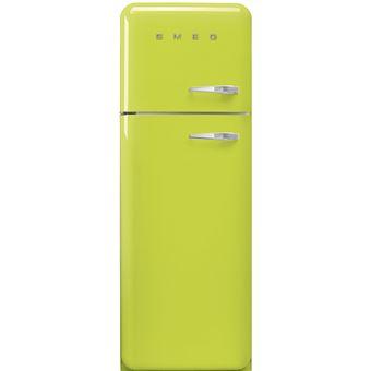 Frigorífico Smeg Anni 50 - Verde maçã - 168 cm - Dobradiças à ...