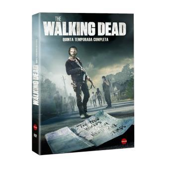 The Walking Dead - Temp 5. Edición (DVD) 4 Discos -