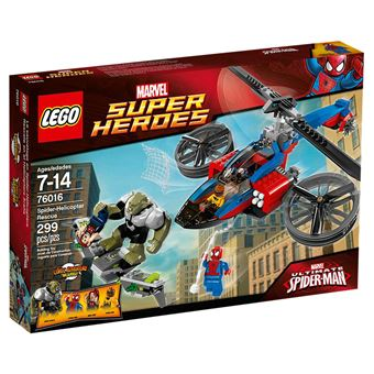 LEGO Super Heroes Marvel Comics - O salvamento em Spider-Helicóptero (76016)