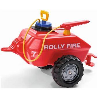 Acessório de Brincar Tanque de Água Rollytoys com Bico de Pulverização Vermelho