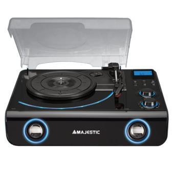 Gira-discos New Majestic TT-42 BT USB AX Preto