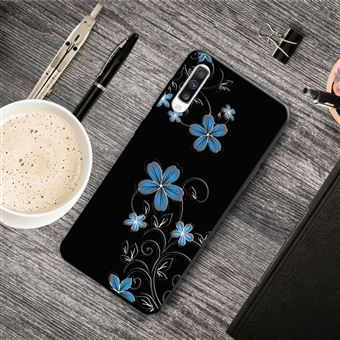 Capa Magunivers para Samsung Galaxy A50 e TPU Impressão Padrão Flores Bonitas