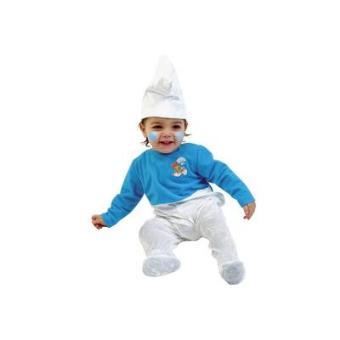 Toyland C125-001 - Disfarce de Bebé Smurf 1-3 anos