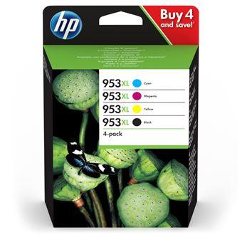 Pack 4 Tinteiros HP Inc 953XL