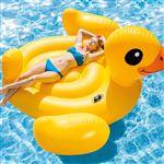 Bóia de Piscina Intex Mega Yellow Duck Island 56286EU