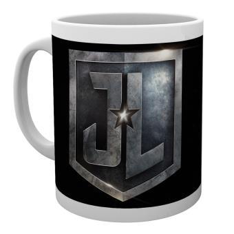 Caneca GB Posters Justice League Movie Logos 30 cl