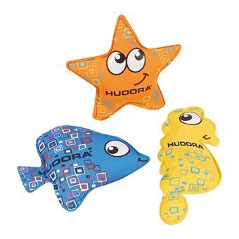 Brinquedo para Banho HUDORA 76446 Azul, Laranja, Amarelo