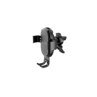RealPower FreeCharge-10 Car Telemóveis/smartphone, Navigator, Tablet/UMPC Preto Suporte ativo para telemóvel