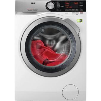 Máquina de Lavar Roupa AEG L9FEC942 Isolado Carregamento frontal 9kg 1400RPM A+++ Branco