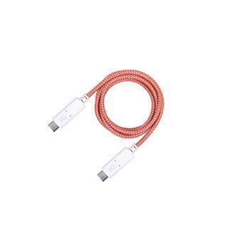 Cabo USB Xtorm CX013 1m USB A USB C  Laranja e Branco
