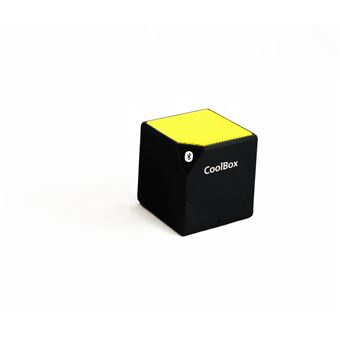CoolBox Cube 2,5 W Alto-falante mono portátil Amarelo