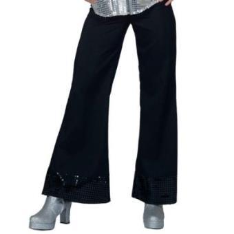 Toyland 508214 - Calças Disco Pretas Senhora 36-38