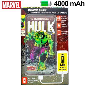 Power Bank Marvel Micro-USB 4000 mAh Hulk