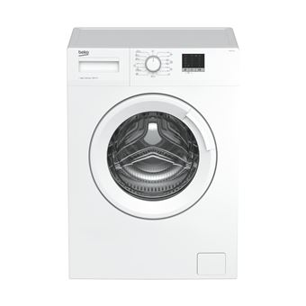 Máquina de Lavar Roupa Carga Frontal Beko WTE 6511 BW 6Kg A+++ Branco