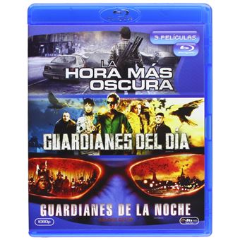 The Darkest Hour + Dnevnoy Dozor (Day Watch) + Nochnoy Dozor / La Hora Mas Oscura / Guardianes del Dia/ Guardianes de la Noche (3Blu-ray)