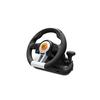 Krom K-Wheel Volante + Pedais PlayStation 4,Playstation,Playstation 3,Xbox One Preto