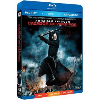 Abraham Lincoln : Cazador de Vampiros Blu-ray + DVD + Copia Digital / Abraham Lincoln: Vampire Hunter (2Blu-ray)