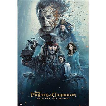 Poster Grupo Erik Pirates of the Caribbean Dead Men Tell No Tales Personagens
