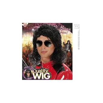 Peruca Preta de Michael Jackson