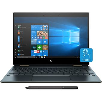 "Portátil Híbrido HP 13-ap0121ng 13 i7 16GB 13.3"""" Azul"