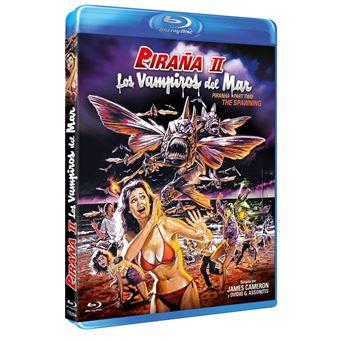 Piranha Part Two: The Spawning / Piraña II Los Vampiros Del Mar BD 1981 (Blu-ray)