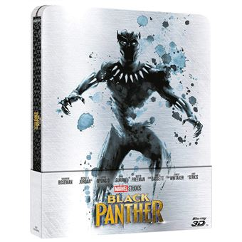 Black Panther (Steelbook 3D)  (2Blu-ray)