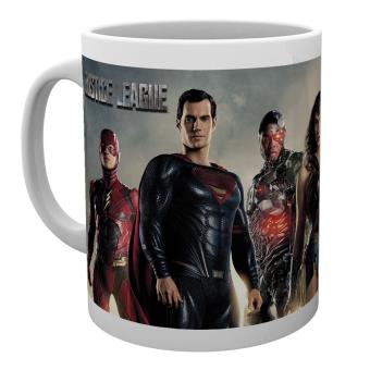 Caneca GB Posters Justice League Movie Personagems 30 cl